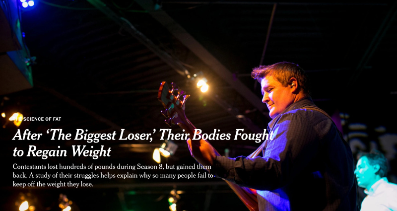 After Big Weight Loss Their Bodies Fought to Regain Weight